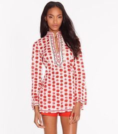 Tunique Tory | Womens Tuniques | ToryBurch.fr