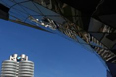 12th of August - (Munich) :  BMW head office as a symbol of German leadership on the car industry