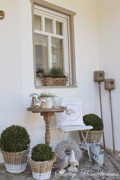 Shabby Home-Dreams im Garten #Gartenidee