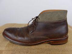 COLE HAAN Benton Welt Chukka Distressed Driftwood Desert Boot Shoe Men 10 M $250 #ColeHaan #DesertBoots