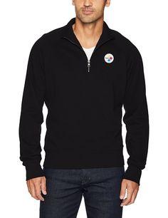 396f402ba Amazon.com   NFL Men s OTS Fleece 1 4-Zip Pullover   Sports