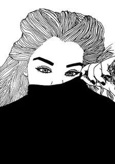 Art black and white girl image abstract drawings easy canvas red Tumblr Outline, Outline Art, Outline Drawings, Abstract Drawings, Easy Drawings, Tumblr Girl Drawing, Tumblr Sketches, Tumblr Drawings, Marinette E Adrien