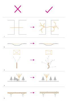 Architectural Drawings Tabiat Pedestrian Bridge / Diba Tensile Architecture - Image 31 of 38 from gallery of Tabiat Pedestrian Bridge / Diba Tensile Architecture. Architecture Images, Architecture Drawings, Concept Architecture, Landscape Architecture, Bridges Architecture, Landscape Diagram, Urban Landscape, Simple Line Drawings, Bridge Design
