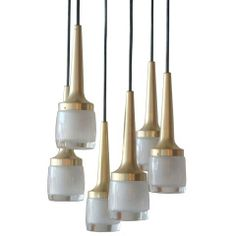 Six Light Hanging Fixture by Staff of Germany