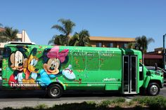 Shuttle from your hotel to save $17 per day in parking costs.      Most area hotels offer a shuttle service for guests to get to and from the park, allowing you to skip the $17 Disneyland parking fee.   but check w/ your hotel on shuttle rates... could be more than the parking if per person.