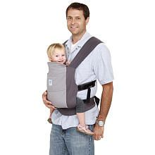 Moby Wrap GO Baby Carrier - Gray