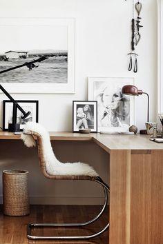 Wood, Black and White, Fur @coveteur