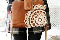 diy thrift purse upgrade