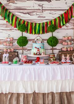 little Red Riding Hood Birthday Party Ideas | Photo 1 of 63 | Catch My Party