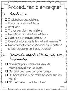 La classe de Karine Classroom Management Techniques, Classroom Behavior, French Language, First Day Of School, Special Education, Organiser, Lesson Plans, Teacher, Activities
