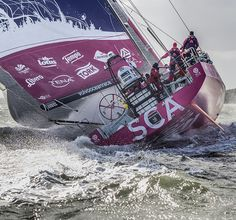 August 2014 - Volvo Ocean Race - Photo by Ainhoa Sanchez