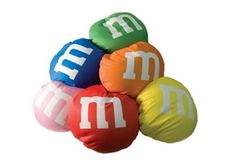 M & M pillows!