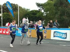 Team Ele at the Great South Run this year
