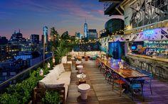 Azul Rooftop at Hugo Hotel - SoHo YUMMM