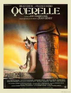 QUERELLE FRENCH ORIGINAL MOVIE POSTER