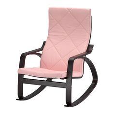 POÄNG Rocking chair - Edum pink - IKEA