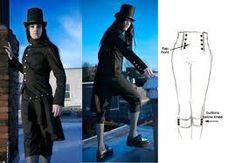 Inspiration for the breeches.  The sketch, not the Jethro Tull wannabe lol.