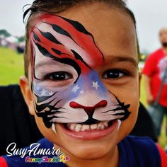 Happy 4 Of July, 4th Of July, Carnival, Face, Painting, Instagram, Independence Day, Carnavals, Painting Art