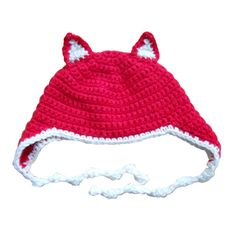 Adorable fox hat for Baby.