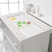 Bright print and a wipe-clean surface - The Very Hungry Caterpillar Changing Mat