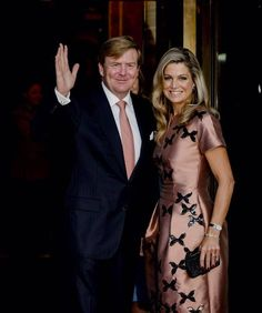 The King and Queen of The Netherlands attend the final celebrations of 200 years of the Kingdom of The Netherlands on September 26, 2015 in Amsterdam, Netherlands