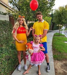 Winnie the Pooh family halloween costumes. Mind-blowing family Halloween costume ideas and let yourself bask in the warmth of the love of your family.