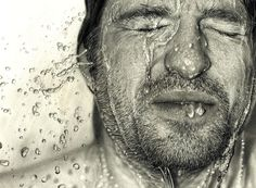 Hyperrealistic pencil and charcoal drawingsbyDirk Dzimirsky.