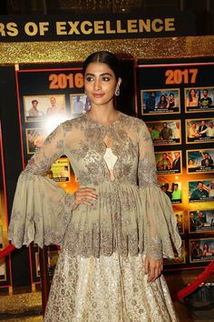 Indian Actress Pooja Hegde At Sakshi Excellence Awards - TOLLYWOOD STARS  IMAGES, GIF, ANIMATED GIF, WALLPAPER, STICKER FOR WHATSAPP & FACEBOOK