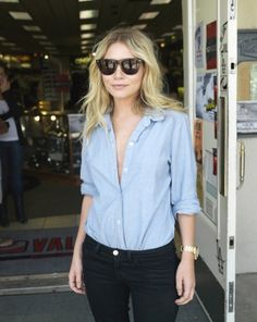Laid-back weekend look, #Ashley Olsen