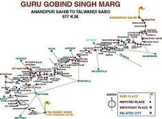 Route of Gurdwara hemkund sahib