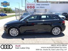 Audi, #A3, #WAUTPBFF3JA078636, #Exterior Color Black, #Used cars, #Wagon, #Electric, #Doors-4, #Salt Lake City, #zip 84111, #state UT, #incacar.com# 2011 Audi R8, Audi A3, Plant Companies, Ford E Series, Dodge Models, Buy Used Cars, Chrysler Sebring, Buick Enclave
