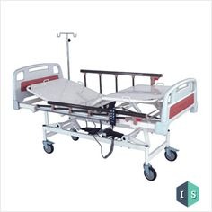 ICU Bed, Electric with ABS Panel and Aluminium Safety Rails Manufacturer Suppliers India
