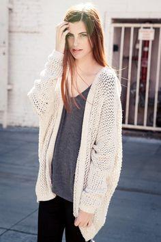 Brandy Melville | Moselle Cardigan - Clothing | brandymelvilleusa.com