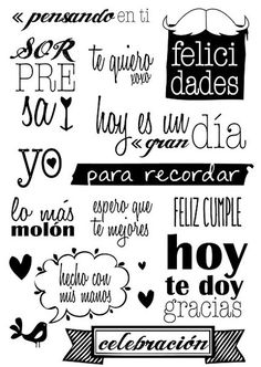Frases black and white / blanco y negro ♥ Wallpaper