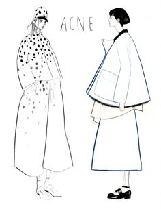 Fashion illustration // Bijou Karman
