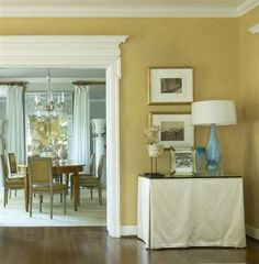 rustic straw paint color - possible paint color for my living room or dining room