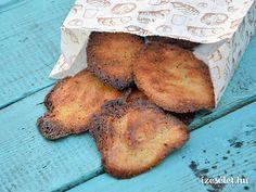 Hihetetlenül könnyű és ropogós keksz, reggeli kávéhoz, délutáni teához vagy az uzsonnás dobozba. Legjobb pedig, hogy az elkészítése 15 percet vesz igénybe. Stuffed Mushrooms, Muffin, Paleo, Healthy Recipes, Vegetables, Fitt, Stuff Mushrooms, Muffins, Beach Wrap