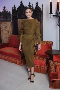 Olivia Palermo Will Not Stop Wearing Fall's Biggest Color via @WhoWhatWear