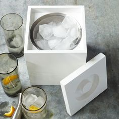 Lacquer Ice Bucket | west elm