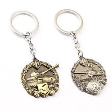 World of Tanks Key Chain 2 colors Key Rings For Gift Chaveiro Car Keychain  Jewelry Key Holder Souvenir. Online shop 29c688d69b53