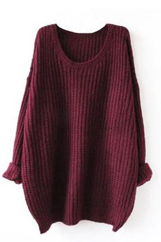 Details: Knitting Round neck Casual style Multicolor Regular wash Fabric: 100%Acrylic, Reference: fit for height < 6', weight < 160 lbs SIZE(IN) BUST SLEE Chunky Cable Knit Sweater, Loose Knit Sweaters, Long Sweaters, Sweaters For Women, Oversized Sweaters, Pullover Sweaters, Oversized Shirt, Oversized Tops, Knitting Sweaters