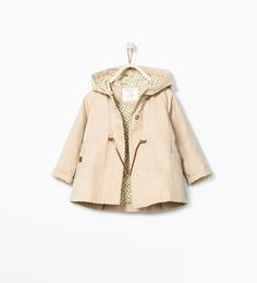 FLORAL LINED TRENCHCOAT Zara Baby