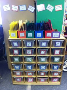 She has some nice ideas, with photos, for work askets.  The Adventures of Room 83: TEACCH Task Boxes!
