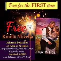 Gideon's Secondhand Bride is FREE for 3 days!