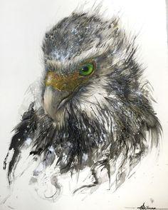 Splattered-ink paintings by Chen Yingjie aka Hua Tunan - ego-alterego.com