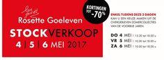 Stockverkoop Rosette Goeleven -- Diest -- 04/05-06/05