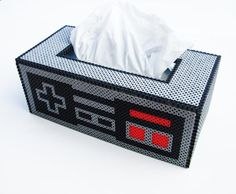 Nintendo tissue box cover