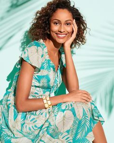 Embrace your tropical daydream! These styles bring the island to you. | Talbots Summer Outfits