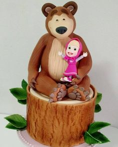 Masha e o Urso. Masha and The Bear. Masha y el Oso. #bolosdoramon #ramonserpa #bolo #pastel ...