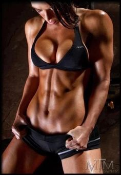 Holy shit. I usually don't post just pictures of fit women, but this was worth pinning. So cool!